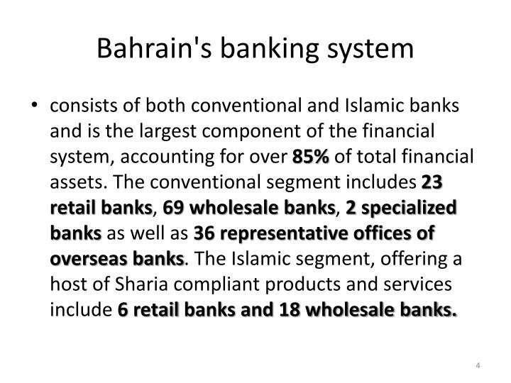 Bahrain's banking system