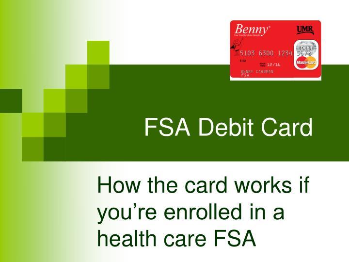 FSA Debit Card