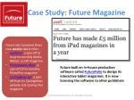case study future magazine