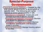 special purpose governments1