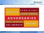 evolving threat adaptive persistent adversaries1