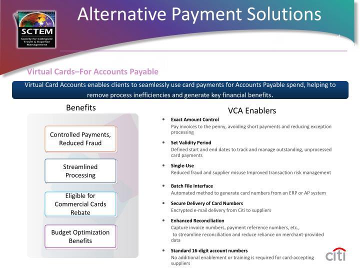 Virtual Cards–For Accounts Payable