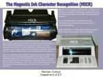 the magnetic ink character recognition micr1