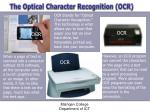 the optical character recognition ocr1