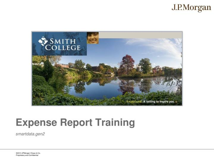expense report training n.
