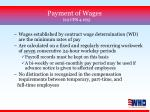 payment of wages 29 cfr 4 165