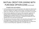 mutual credit for leasing with purchase option lvm continued1