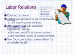 labor relations