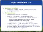 physical distribution cont2