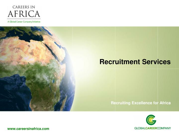 recruitment services n.