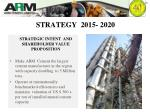 strategy 2015 2020