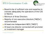 ifia governance code2