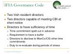 ifia governance code3