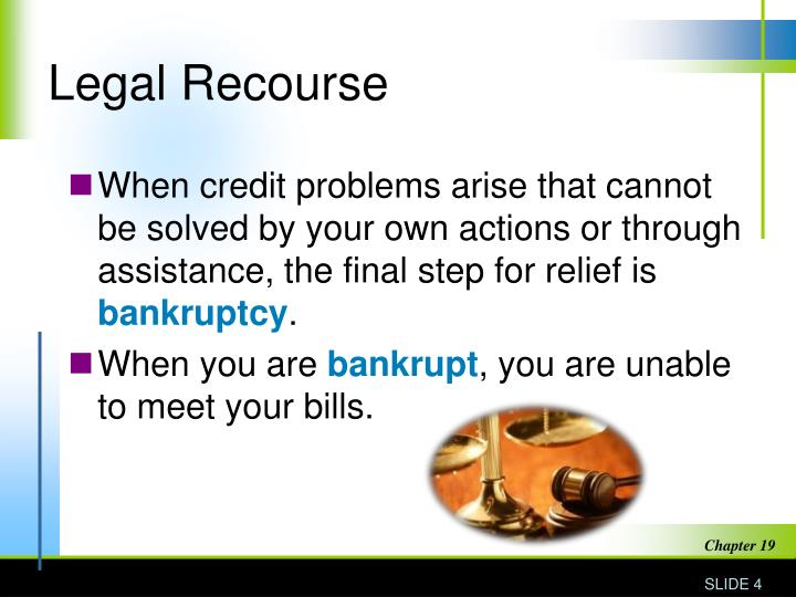 Legal Recourse