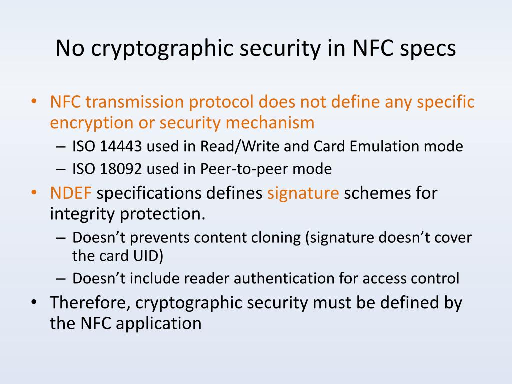PPT - NFC Application Security PowerPoint Presentation - ID