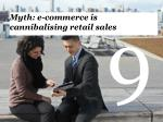 myth e commerce is cannibalising retail sales