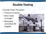 double testing10