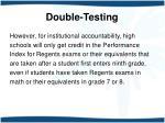 double testing7