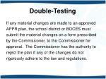 double testing9