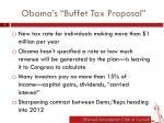 obama s buffet tax proposal