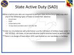 state active duty sad