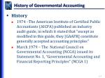 history of governmental accounting1