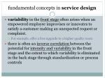 fundamental concepts in service design4