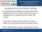 background and quickbooks defaults1