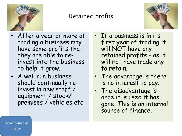 Retained profits
