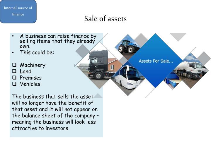 Internal source of finance