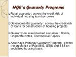 hgc s guaranty progr ams