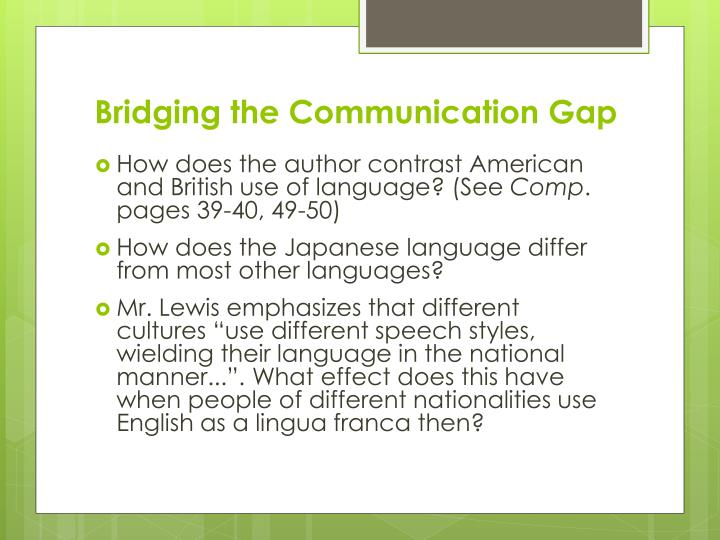 japanese language patterns differ from american patterns Language and conflict 3 3 can we talk language patterns and intergenerational conflict in vietnamese-american families vietnamese.