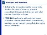 concepts and standards5