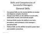 general skills