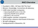 nacs overview