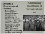 addressing the effects of industrialization1