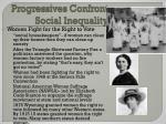 progressives confront social inequality