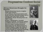 progressives confront social inequality1