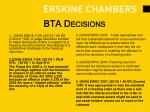 bta decisions