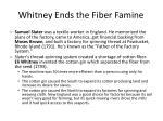 whitney ends the fiber famine