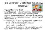 take control of debt become a savvy borrower