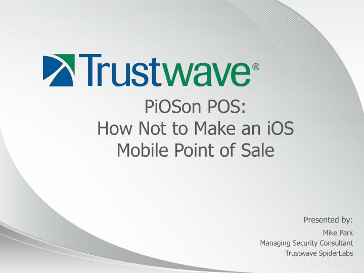 pioson pos how not to make an ios mobile point of sale n.