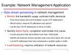 example network management application1