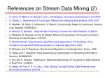 references on stream data mining 2