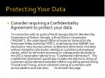 protecting y our data