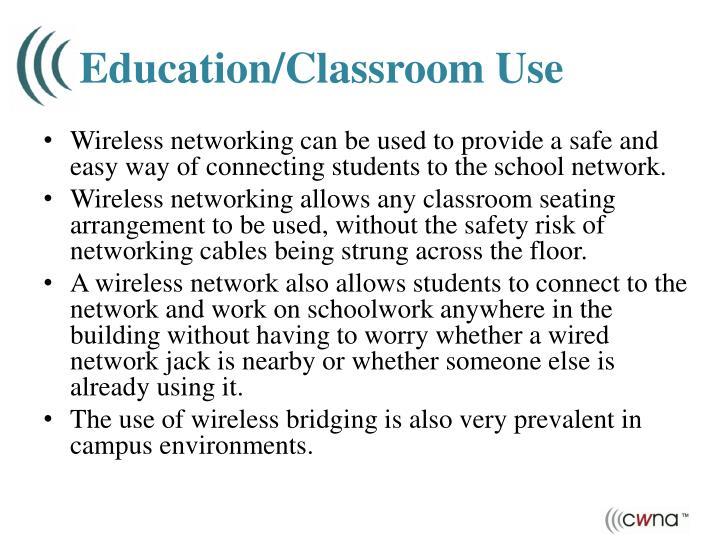 Education/Classroom Use