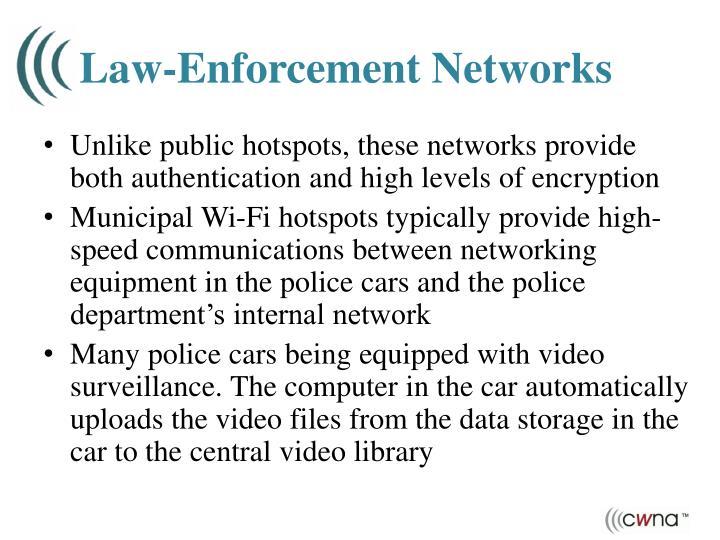 Law-Enforcement Networks
