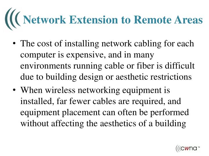 Network Extension to Remote