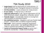 tsa study 2010