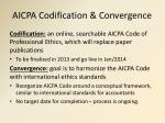 aicpa codification convergence